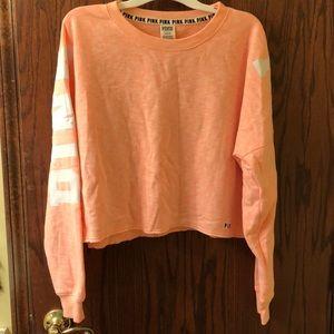 Victoria's Secret PINK cropped pullover— Size L